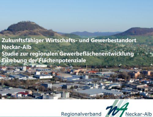 """Gewerbeflächenstudie Region Neckar-Alb"""