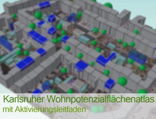 """Wohnpotenzialflächenaltas Karlsruhe"""